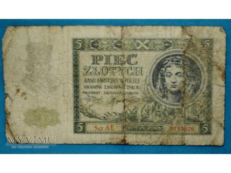 5 złotych 1941