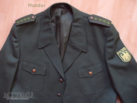 Bundespolizei - mundur służbowy