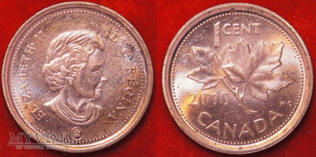 Kanada, 1 CENT 2010