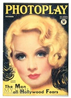 Marlene Dietrich Photoplay Pocztówka 2