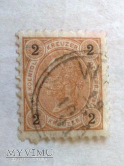 Franz-Joseph 1890 2 Krajcar austro-węgierski