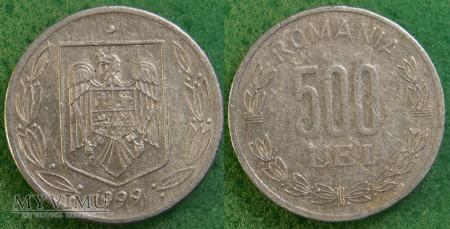Rumunia, 500 Lei 1999