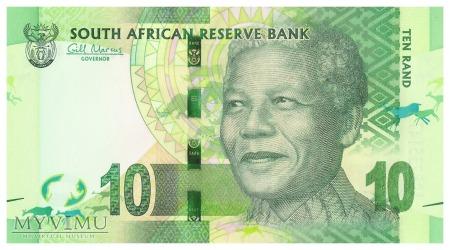Republika Południowej Afryki - 10 randów (2012)