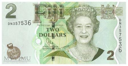 Fidżi - 2 dolary (2011)