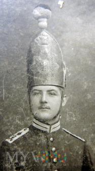 Żołnierz w stopniu mannschaften z 1. Garde-Regt.