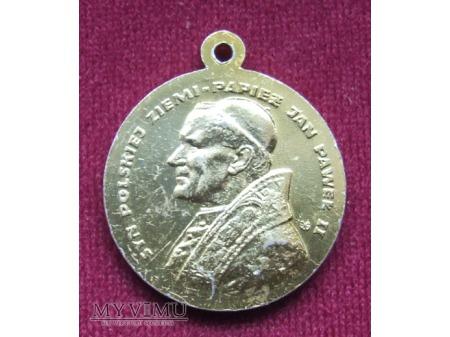 Medal z Błogosławionym Papieżem Janem Pawłem II
