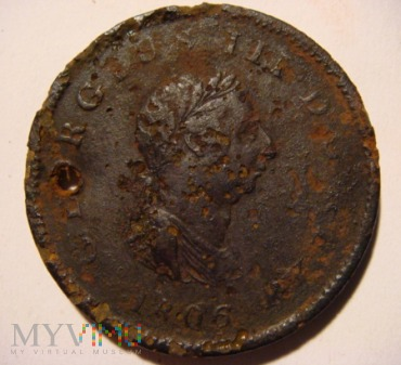 One penny 1806