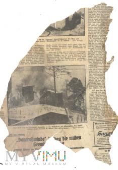 Duże zdjęcie 26 Nieznana niemiecka gazeta - okres II WŚ