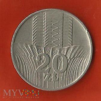 Polska 20 złotych, 1973