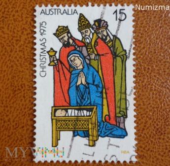 znaczek Australii Boże Narodzenie 1975