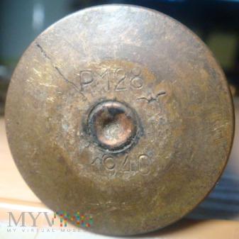 łuska od naboju sygnałowego P128 1940r