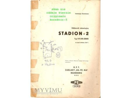 Instrukcja serwisowa telewizora STADION 2