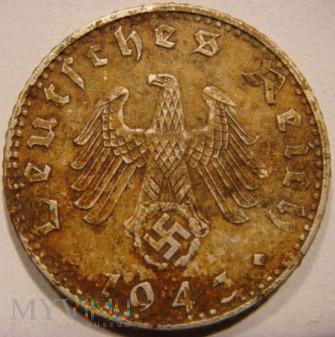 Duże zdjęcie 50 Reichspfennig 1943 A - Berlin
