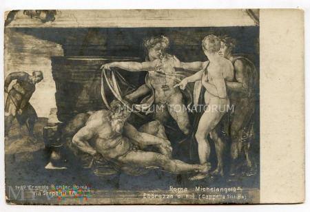 Michelangelo - Pijany Noe