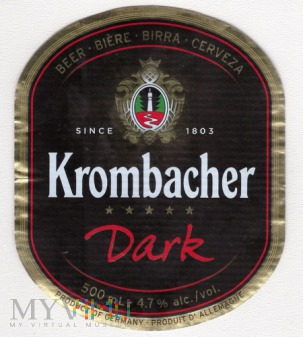 Krombacher, Dark