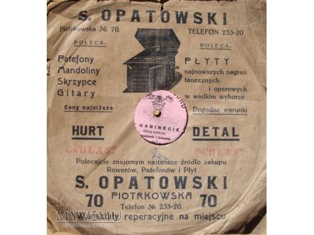 Reklama z Łodzi