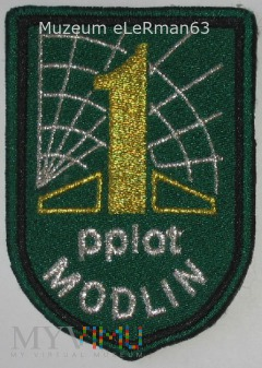 1. Modliński Pułk Przeciwlotniczy .Modlin.