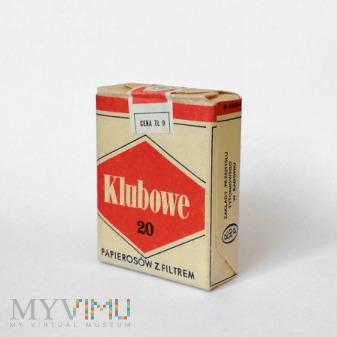 """Duże zdjęcie papierosy """"Klubowe"""""""