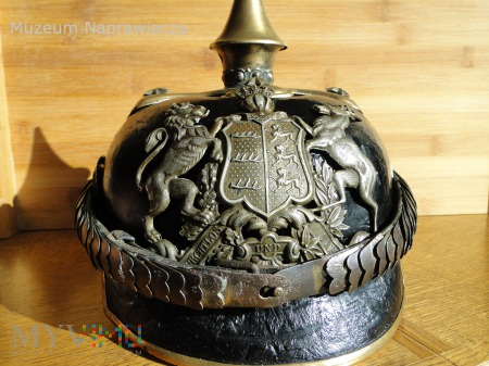 Pickelhaube oficerska-Privately purchase