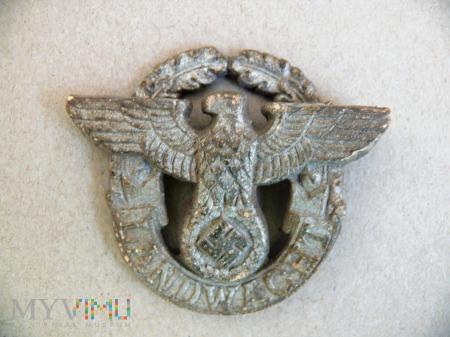 Orzeł z czapki Landwacht (policja)