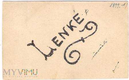 Pocztówka okolicznościowa 1899