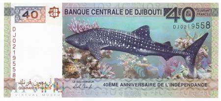 Dżibuti - 40 franków (2017)
