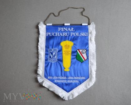 Proporzec Lech Poznań-Legia Warszawa PP 2011