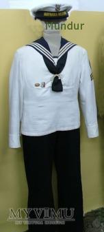Mundur letni marynarza służby zasadniczej MW