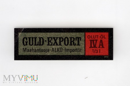 Dania, Guld-Export