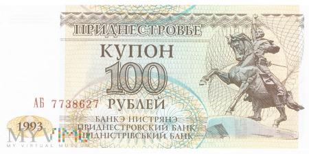 Mołdawia (Naddniestrze) - 100 rubli (1993)