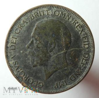 Moneta 1 Pens 1935 Jerzy V One Penny