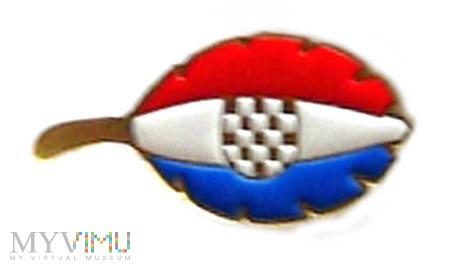 odznaka listek - Chorwacja