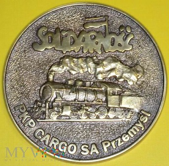 Medal NSZZ Solidarność PKP CARGO S.A. Przemyśl
