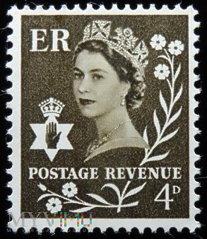 Irlandia Północna 4d Elżbieta II