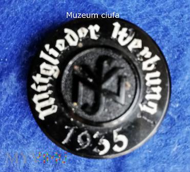Nationalzozialistische Volkswohlfart 1935-odznaka