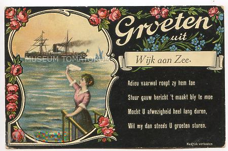 Pozdrowienia z Wijk aan Zee - pocz. XX w.