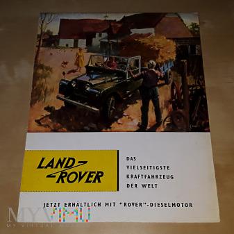 Duże zdjęcie Prospekt Land Rover (88 & 109) 1957