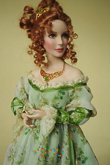 Franklin Mint Doll Rosie princess of Lismore castl