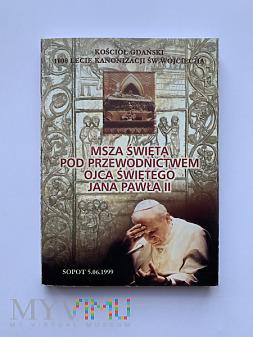 Modlitewnik z Mszy św. z Janem Pawłem II w Sopocie