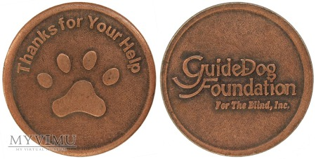 Guide Dog Foundation for the Blind, Inc. żeton