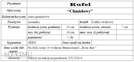 "Kufel ""Chmielowy"""