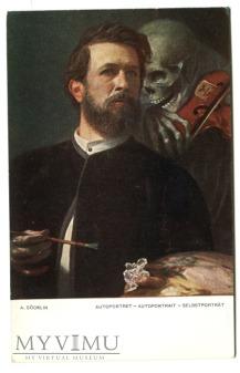 Arnold Böcklin Śmierć gra na skrzypcach Macabre...