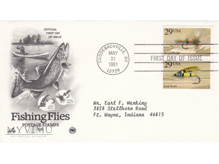 USA 1991 - FDC Artcraft cz.2