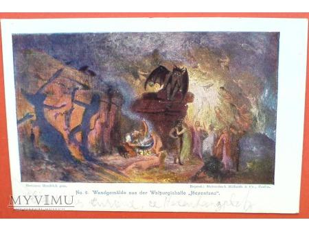 1903 Taniec czarownic z diabłem HEXENTANZPLATZ