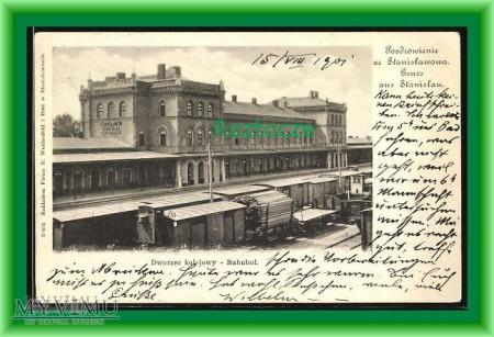 Duże zdjęcie STANISŁAWÓW , Dworzec kolejowy