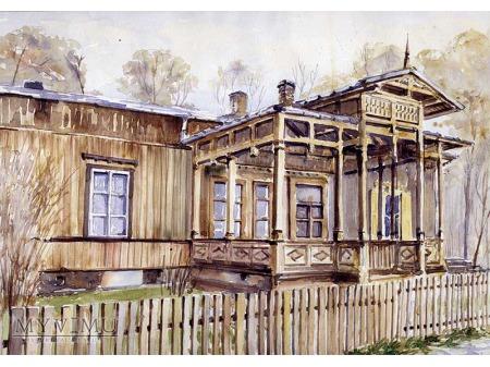 Duże zdjęcie Otwock - Architektura drewniana Świdermajer