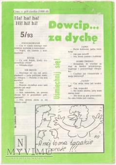 Dowcip...za dychę 5/93