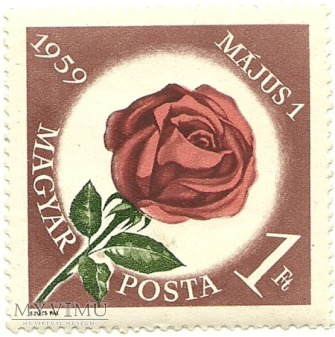 Święto 1 Maja - Węgry - 1959 r.