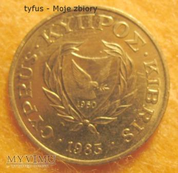 Duże zdjęcie 2 CENTS - Cypr (1983)
