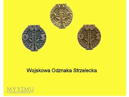 Duże zdjęcie Odznaka WOS